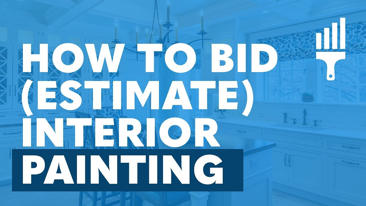 """house contract template  """"How to Bid (Estimate) Interior Painting"""" By Painting .."""