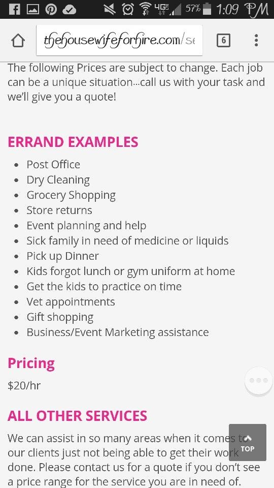 virtual assistant contract template  Running Errands | Errand business, Small business ..
