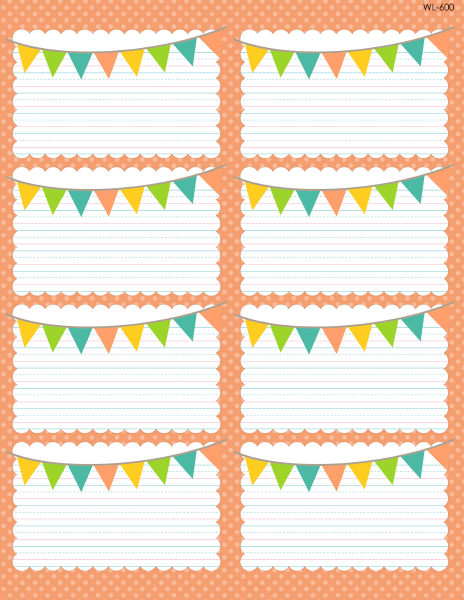 cute name labels template  School Days Printables & Labels part 1 | Worldlabel Blog - cute name labels template
