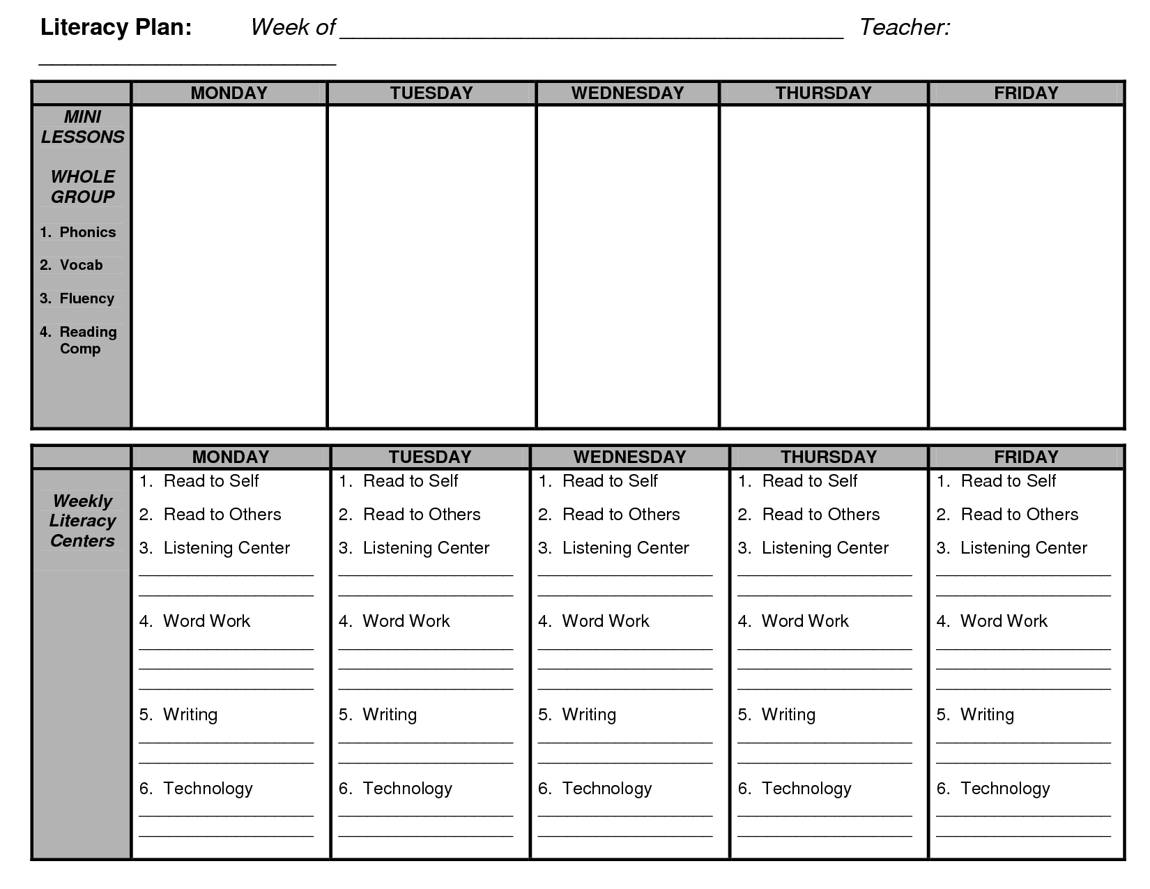 shared reading lesson plan template pdf  Shared Reading Lesson Plan Template | Guided Reading ..