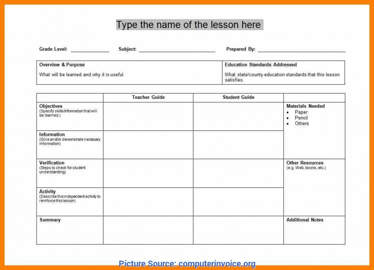 training lesson plan template  Special Dance Class Lesson Plan Template 3. Creative Dance ..