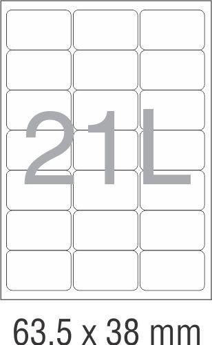 novajet labels 8 templates  TechNova Imaging Systems - NovaJet Multipurpose Label 21L ..