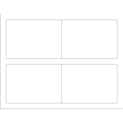 4 labels per sheet template  Templates - Shipping Label, 4 per sheet - Wide | Avery - 4 labels per sheet template