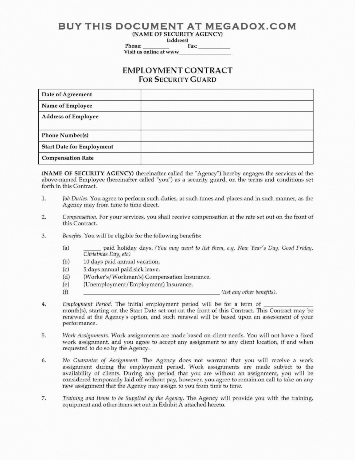 junk removal contract template  This is the Film Investment Contract Template Junk Removal ..
