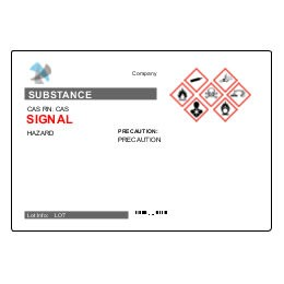 chemical labels template  UltraDuty GHS Chemical Labels Predesign Templates | Avery