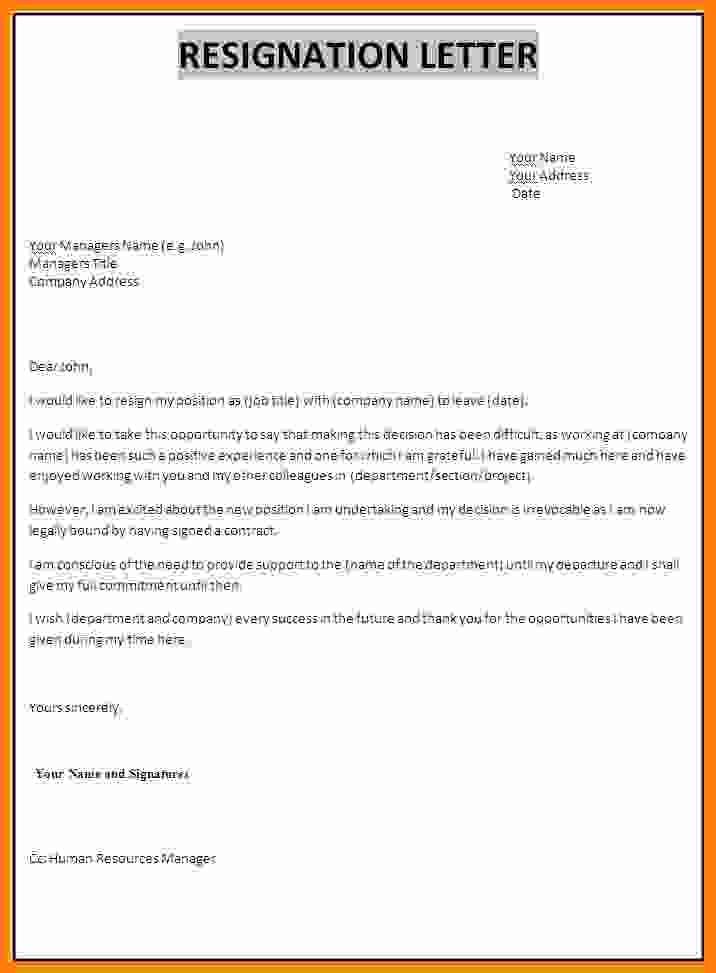 resignation letter template better opportunity  10+ resignation letter sample with reason better ..