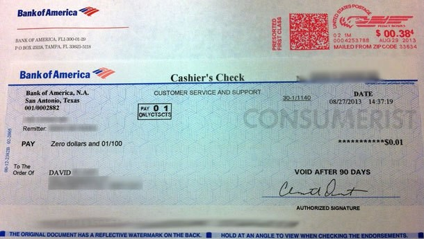 bank of america bank check  10 | September | 2013 | Justice League - bank of america bank check