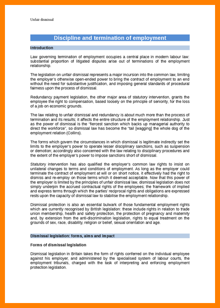 resignation letter template for constructive dismissal  11+ constructive dismissal resignation letter template ..