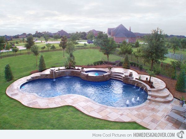 free form pool ideas  15 Remarkable Free Form Pool Designs | Swimming pool ..