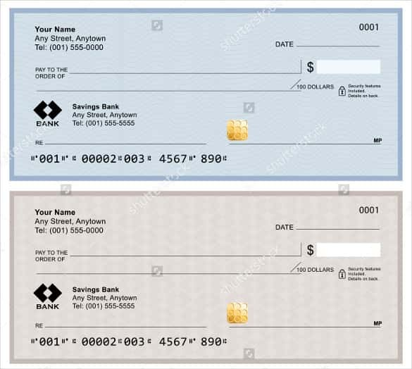 bank of america bank check fee  27 Images of Bank Of America Check Template | leseriail