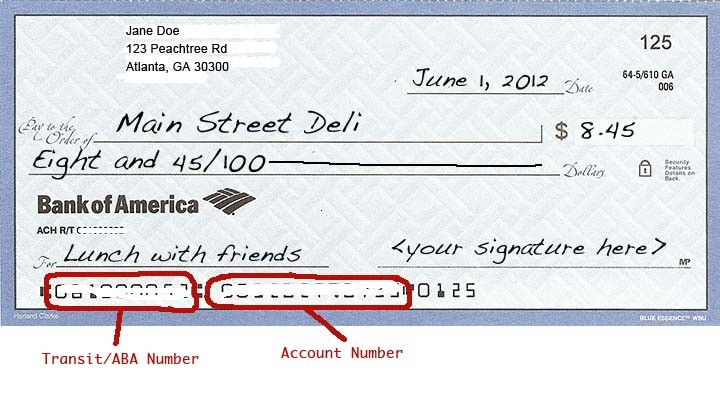 bank of america bank check  27 Images of Bank Of America Check Template | leseriail