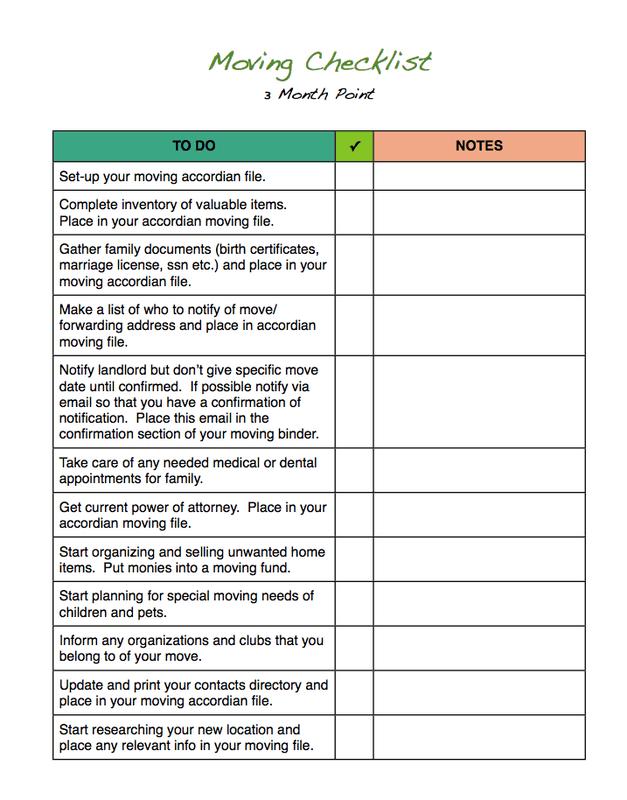 checklist template moving house checklist  5 Free Moving Checklist Templates - Word - Excel - PDF Formats - checklist template moving house checklist