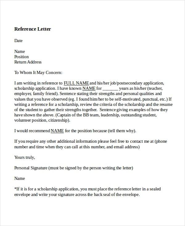recommendation letter for teacher post  8+ Reference letter for teacher Templates - Free Sample ..