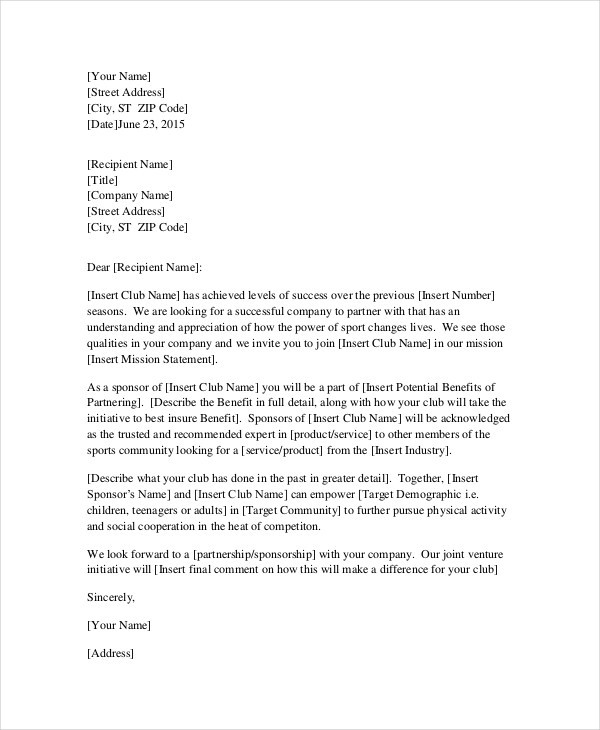 template request for letter  9+ Professional Request Letter Templates - PDF | Free ..