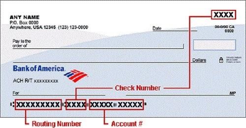 bank of america bank routing number florida  Bank of America Routing Number - California, Texas, New ..