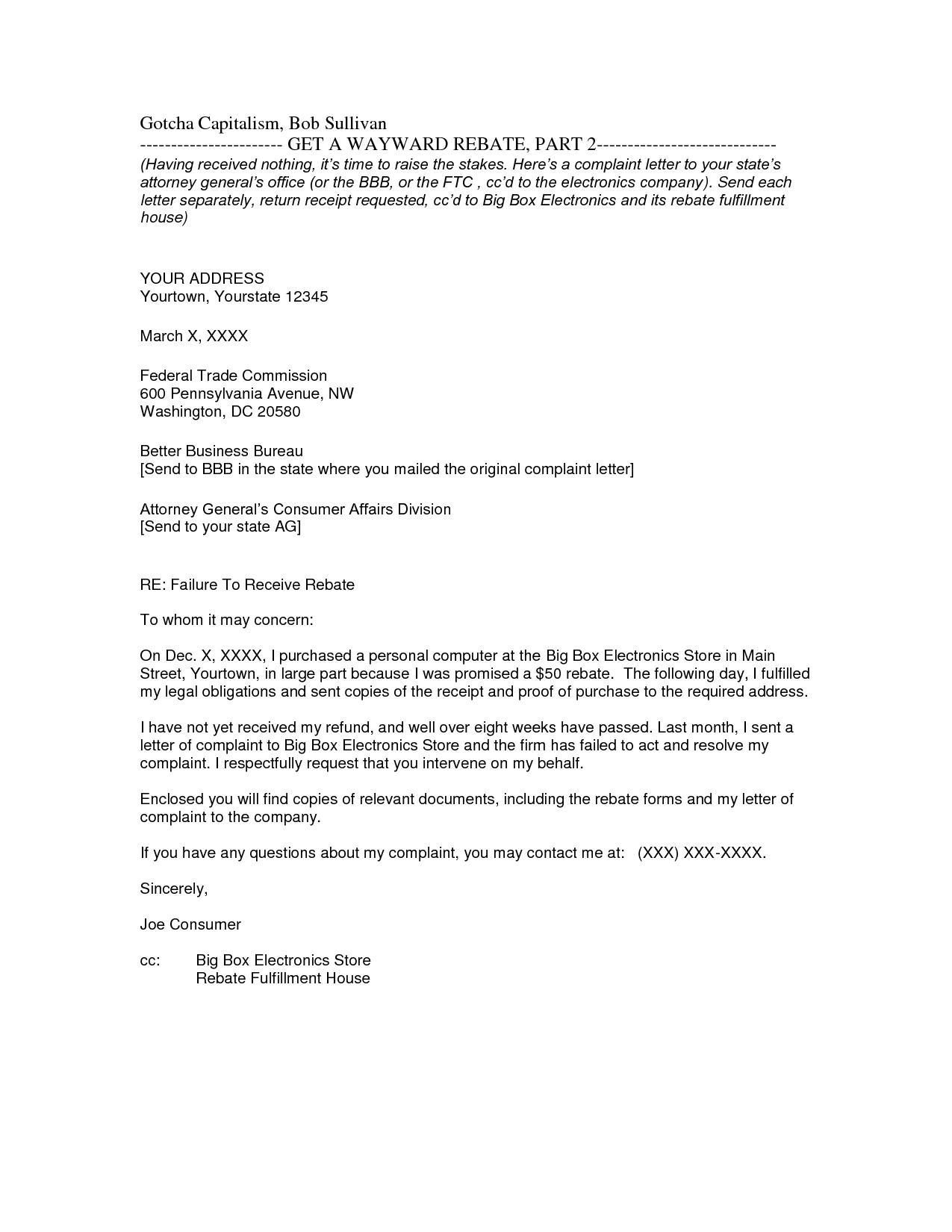 letter format cc encl  Cc Business Letter Example | Letters – Free Sample Letters - letter format cc encl