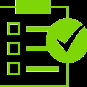 checklist template icon  Checklist Clipart Icon | Web Icons PNG - checklist template icon