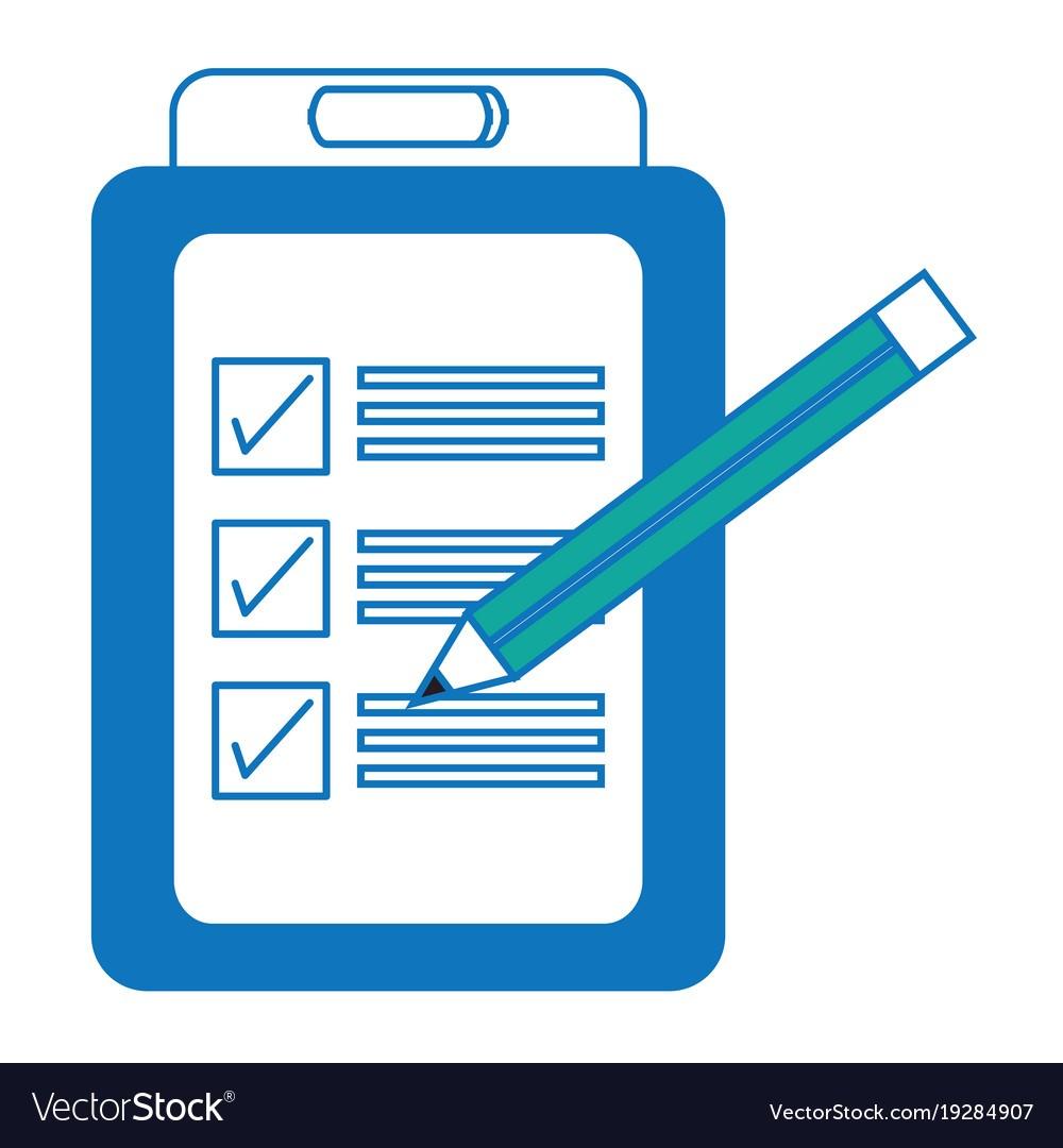 checklist template icon  Checklist icon image Royalty Free Vector Image - checklist template icon
