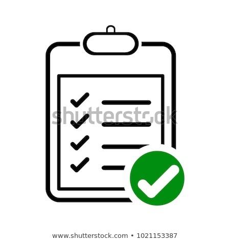 checklist template icon  Checklist Icon Logo Template Stock Vector (Royalty Free ..