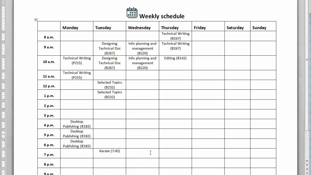 schedule template aesthetic attending  create a - schedule template aesthetic attending