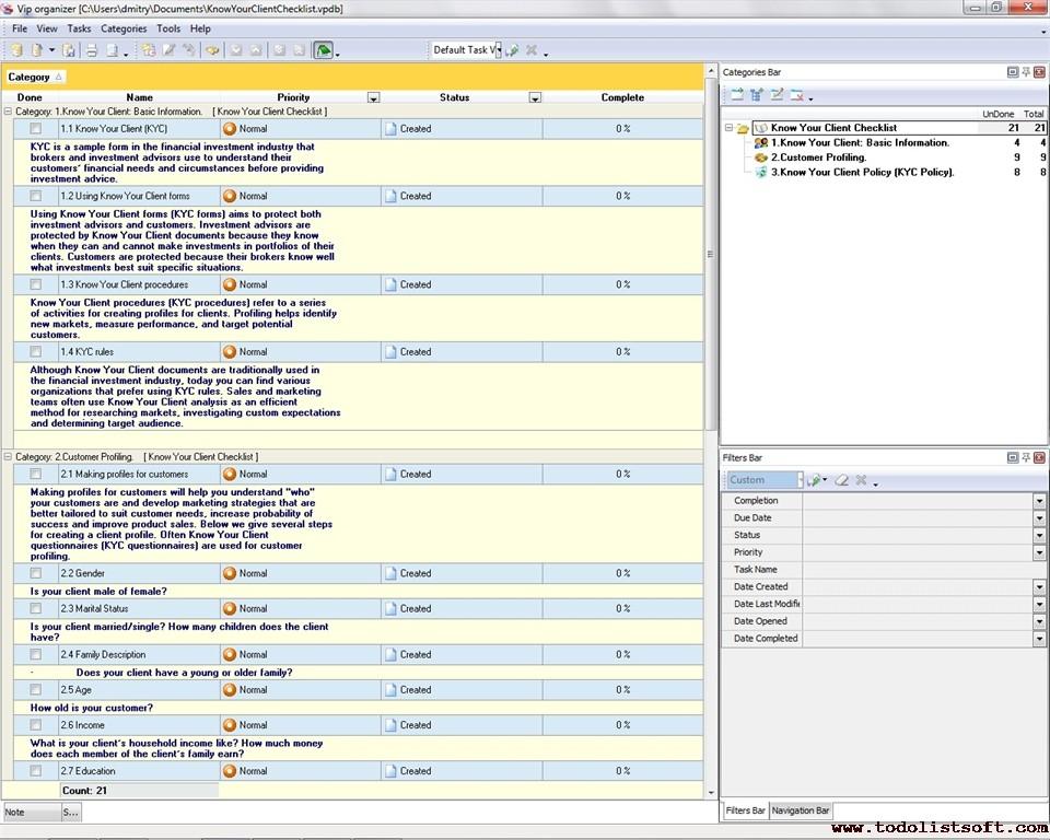 new client checklist template  Customer Management Templates - new client checklist template