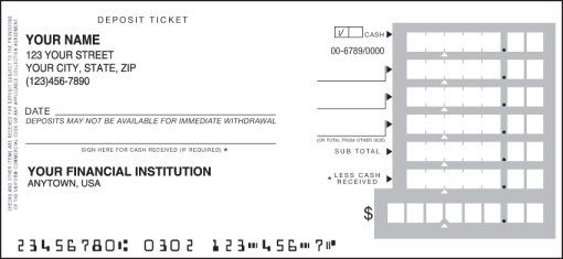 bank of america bank check endorsement  Deposit Tickets - Order Bank Deposit Slips   Checks