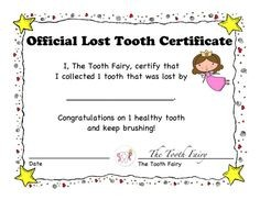 tooth fairy letter template download  Download a letter from the tooth fairy | The Tooth Fairy ..
