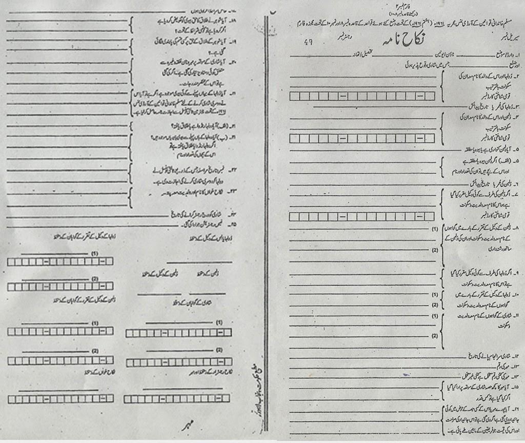 nikah nama form in english free download  Download Nikah Nama Form In Urdu Free - nikah nama form in english free download