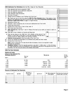 agi on form 1041  Fillable Online Form 1041-ES (OCR) Fax Email Print - PDFfiller - agi on form 1041