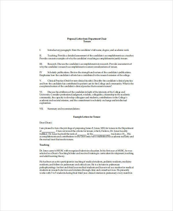 recommendation letter for teacher tenure  FREE 11+ Professor Recommendation Letter Samples in MS ..