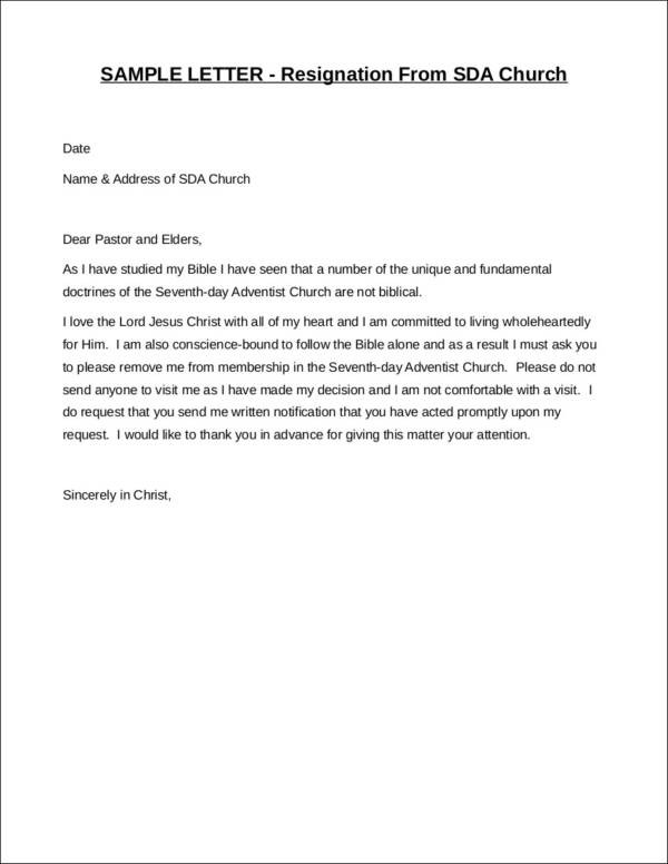 resignation letter template uae  FREE 37+ Printable Resignation Letter Samples in PDF | MS ..