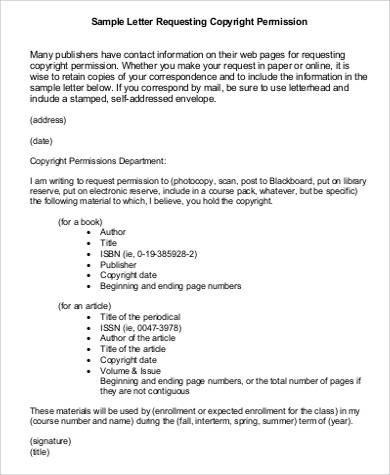 sample request permission letter  FREE 46+ Request Letter Samples in MS Word | Pages | PDF - sample request permission letter