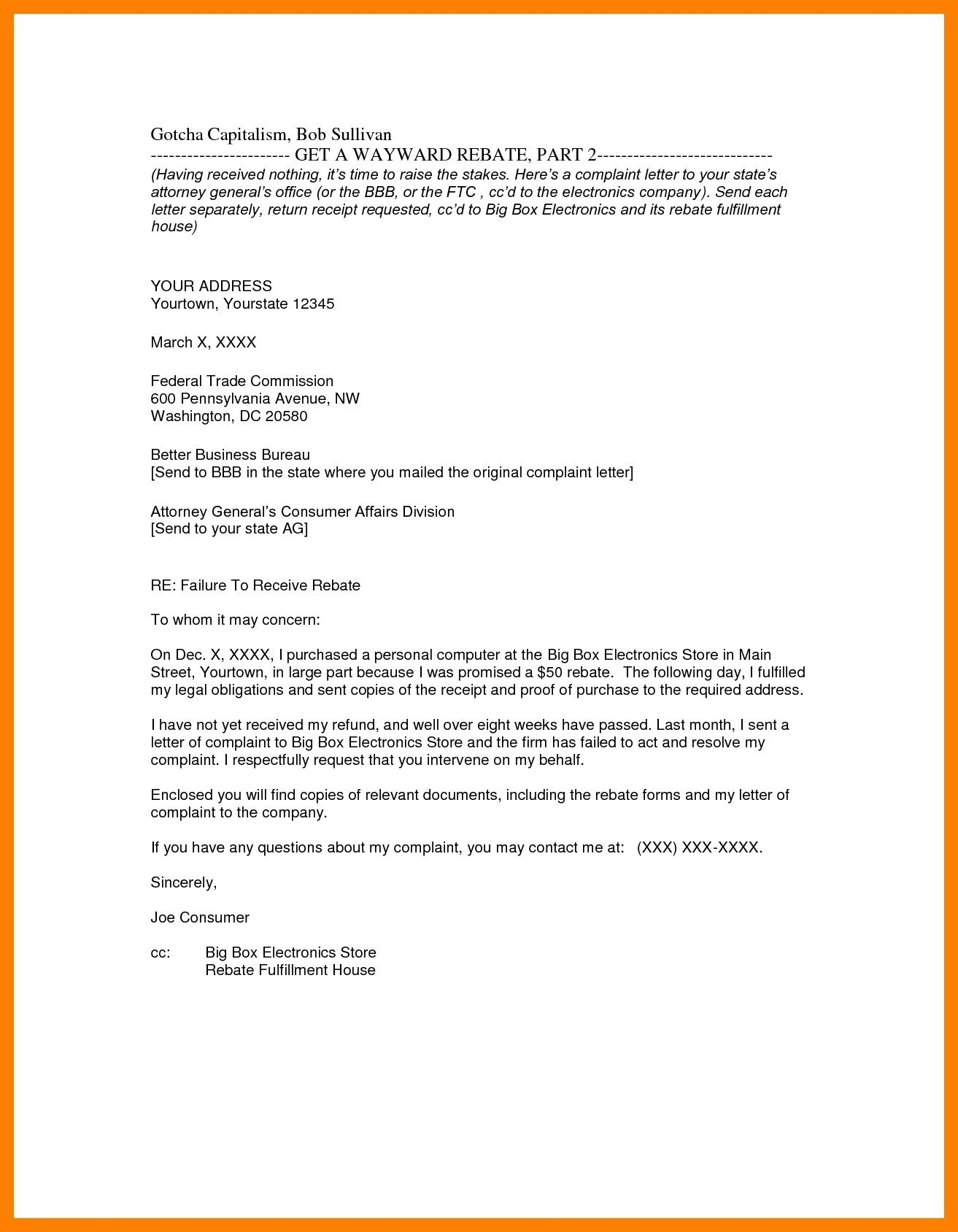 letter template with cc  How To Write Cc In A Letter | scrumps - letter template with cc