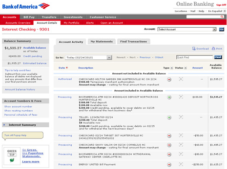 bank of america bank statement  Importing statement from Bank of America. Only finding PDF ..