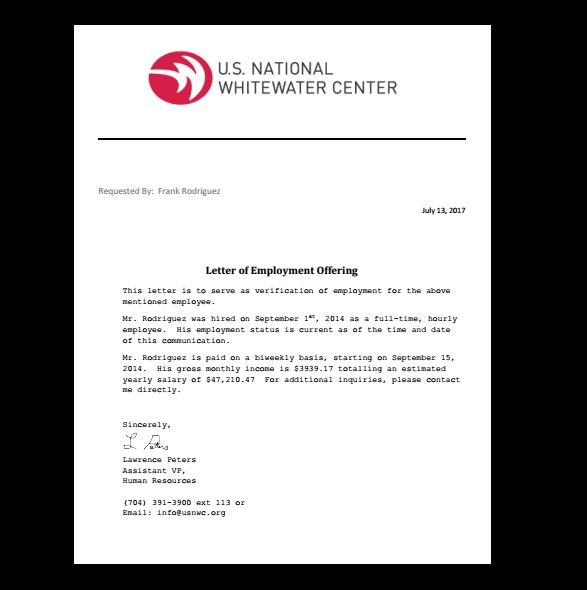 bank of america bank letter  Letter, Employment Verification in 2019   Fake Documents ..
