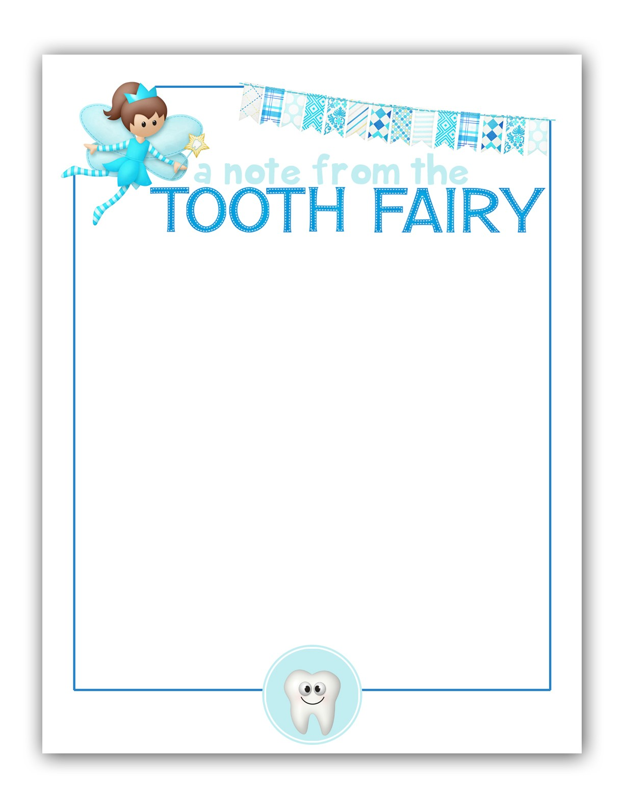 tooth fairy letter template free  M|K Designs Blog: Tooth Fairy Stationary - FREE Printable - tooth fairy letter template free