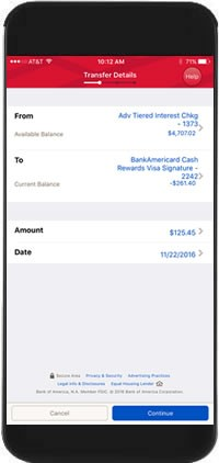 bank of america bank wire online  Mobile Money Transfers from Bank of America - bank of america bank wire online