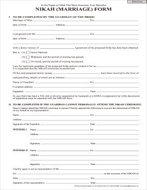 nikah nama form in english free download  Nikah Nama Form In English Bangladesh Pdf - Fill Online ..