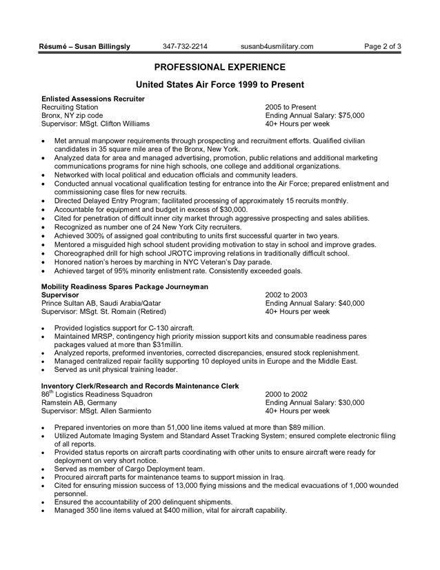 usajobs federal resume template  Pin oleh jobresume di Resume Career termplate free - usajobs federal resume template