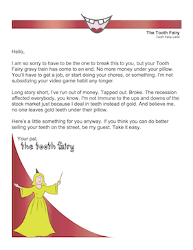 tooth fairy apology letter template  Printable Tooth Fairy Apology Letter - tooth fairy apology letter template