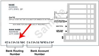 deposit slip bank account number  Printing Deposit Slips For Your Bank To Scan - deposit slip bank account number