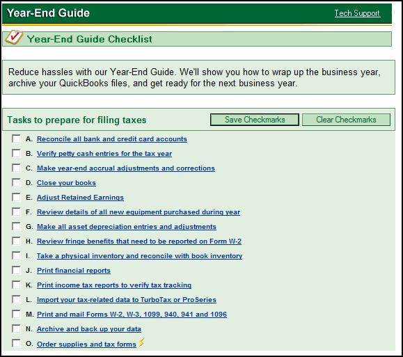 year end checklist template  QuickBooks Year End Close Out Tips - year end checklist template