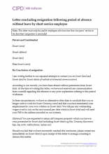 resignation letter template gardening leave  Resignation | CIPD HR-inform - resignation letter template gardening leave