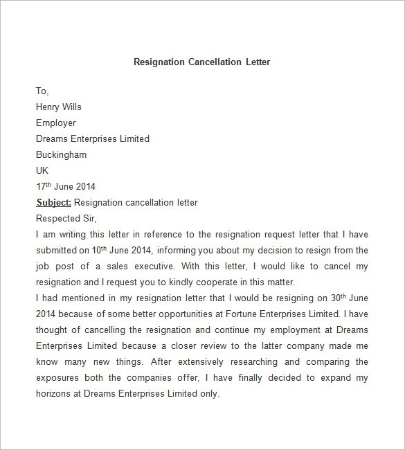 resignation letter template after maternity leave  Resignation Letter Template - 25+ Free Word, PDF Documents ..
