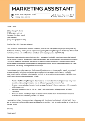resignation letter template german  Sales Cover Letter Example | Resume Genius - resignation letter template german