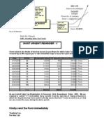 letter format for cc limit renewal  Sample Letter for Courier Sending - letter format for cc limit renewal