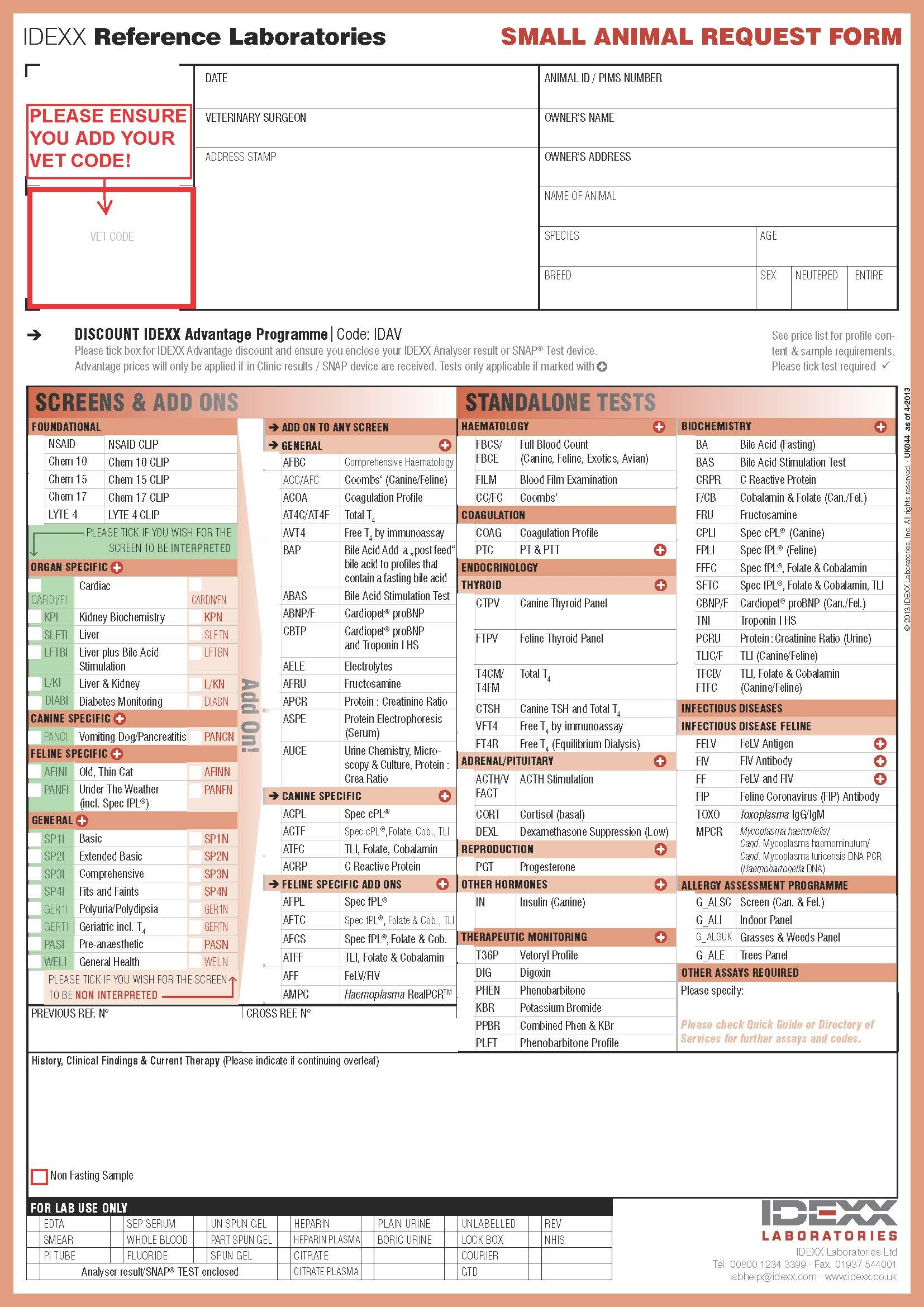 quest diagnostics order form pdf  11 Best Photos of Quest Diagnostic Blood Work Order Forms ..