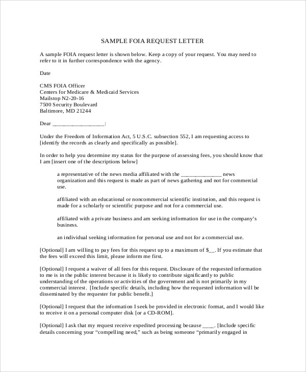 sample request letter for expedited processing  12+ Sample Formal Request Letters - PDF, Word, Apple Pages - sample request letter for expedited processing