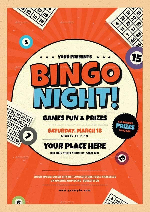 bingo flyer template free download  14+ Bingo Flyer Templates- Illustrator, InDesign, MS Word ..