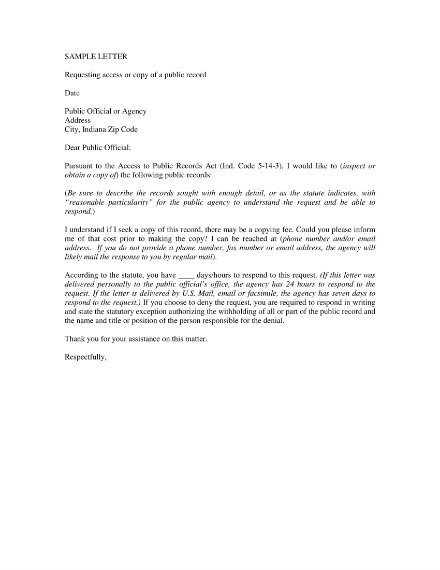 request for access letter template  15+ Request Letters Examples, Templates in Word, Pages ..